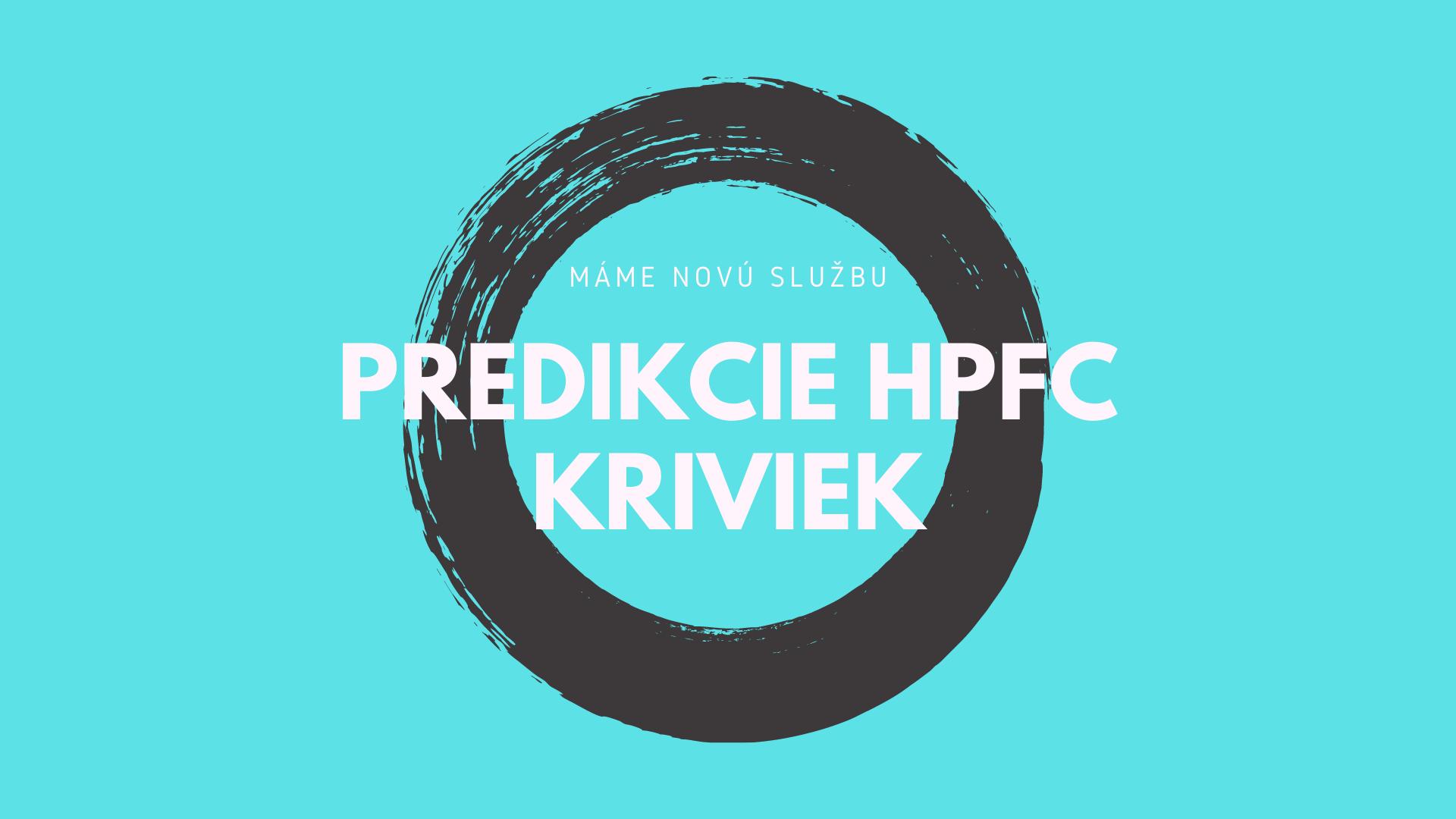predikcia HPFC kriviek